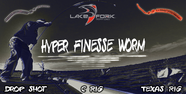 Lake Fork Trophy Lures Hyper Finesse Worm